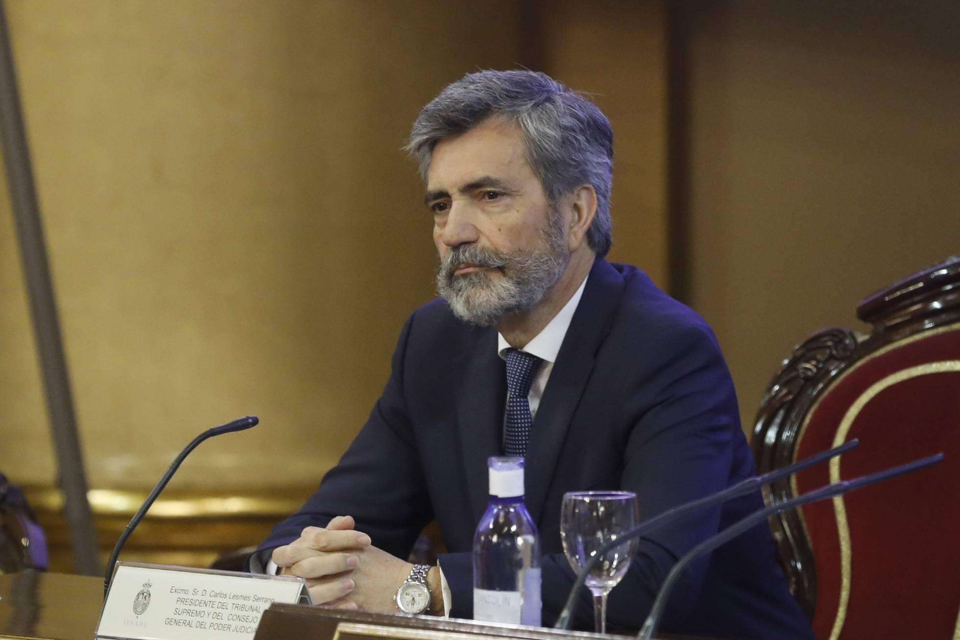 """El presidente del Supremo pide perdón por la crisis de las hipotecas: """"No lo hemos gestionado bien"""""""